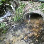 flowing culverts